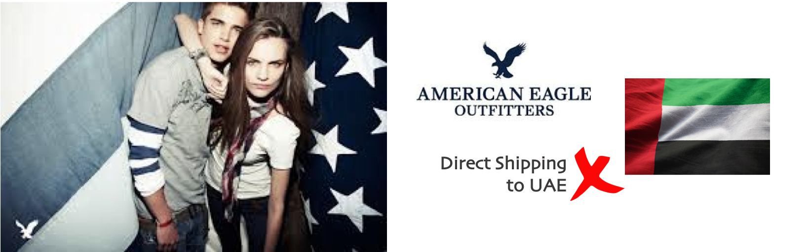 shop American Eagle ship to uae