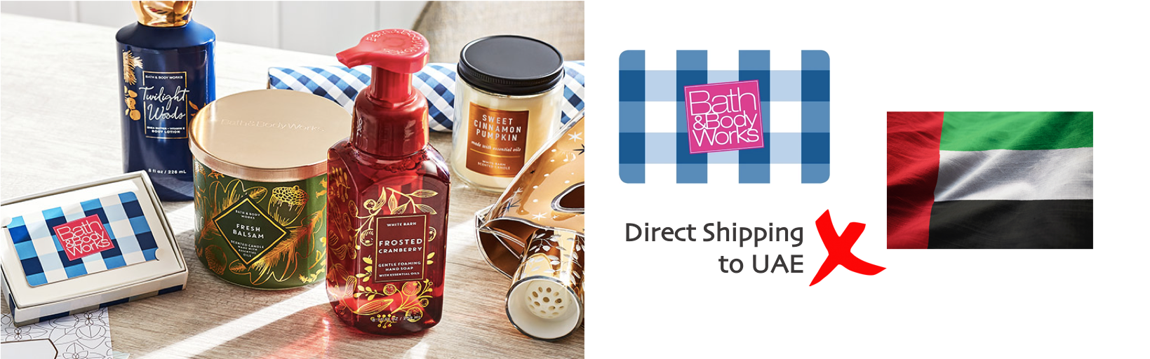 shop Bath & Body Works ship to uae