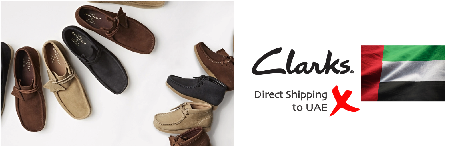 shop Clarks ship to uae