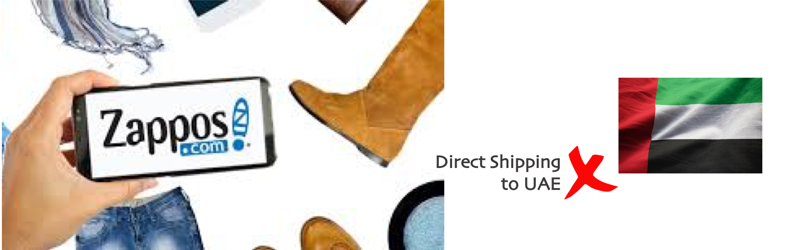 shop Zappos ship to uae