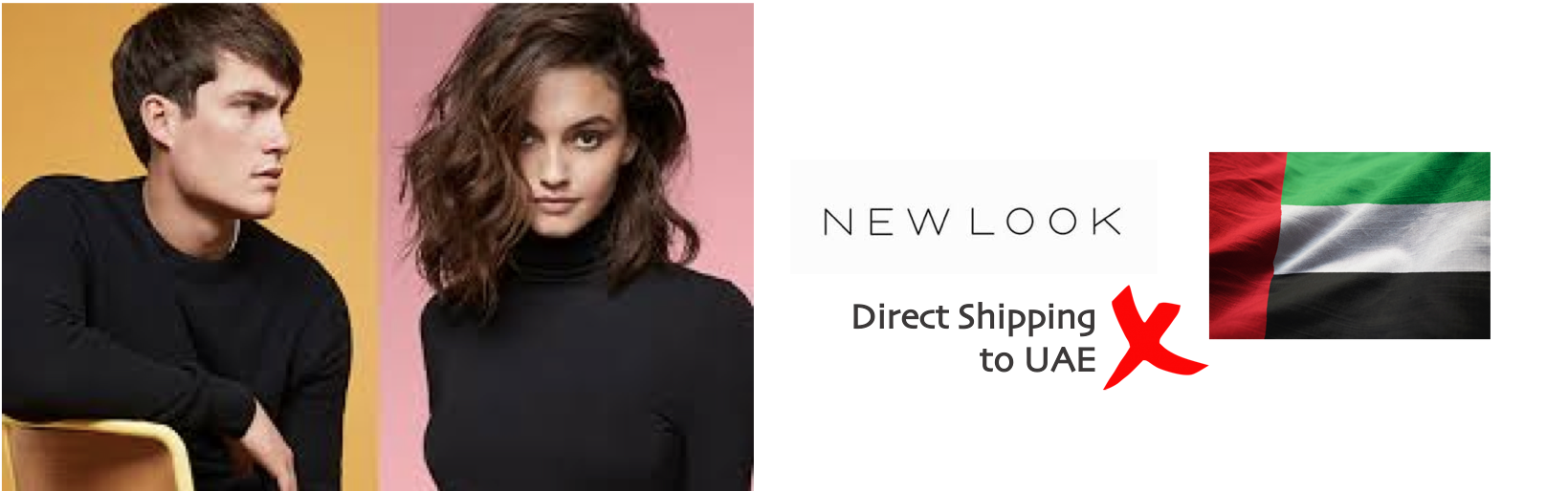 shop New Look ship to uae