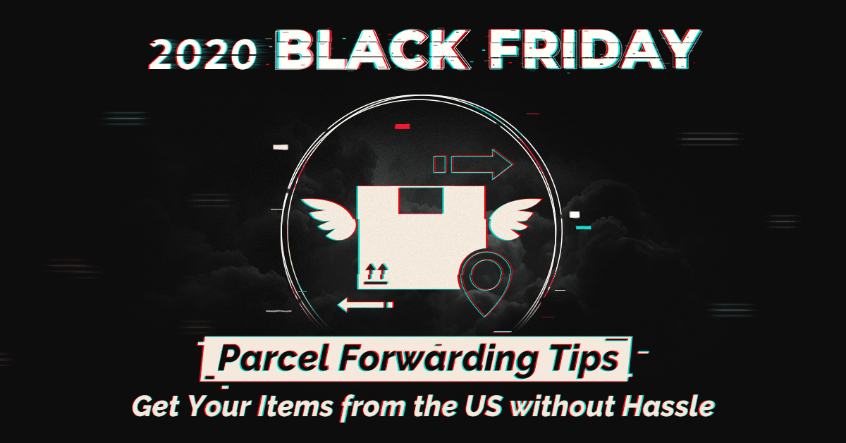 Black Friday parcel forwarding